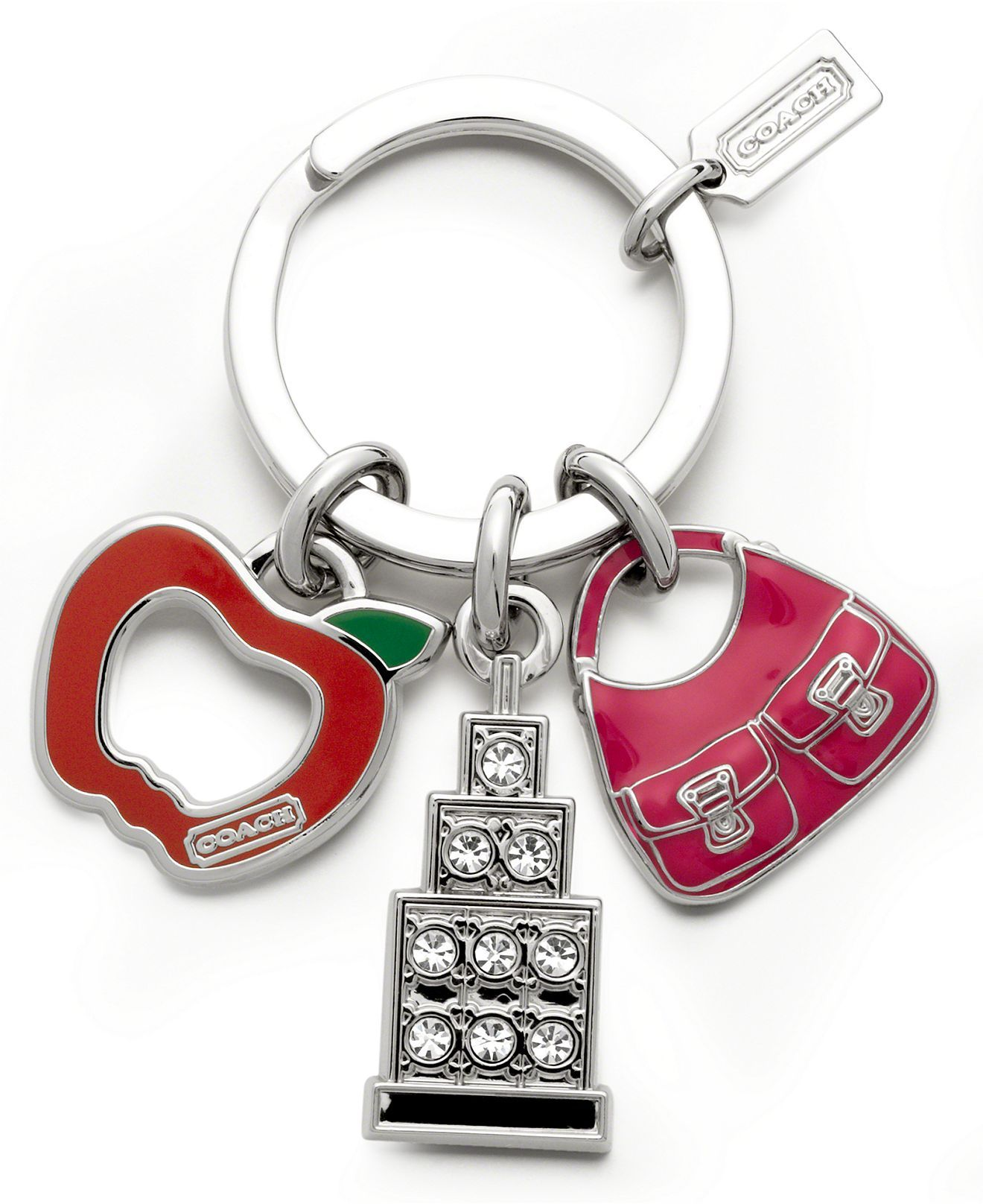 COACH FASHIONS NIGHT OUT KEY RING | Llaveros | Llaveros ... - photo#39