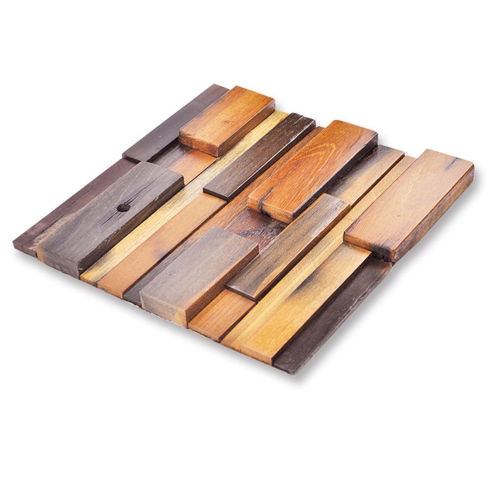 Reclaimed Wood Wall Tiles