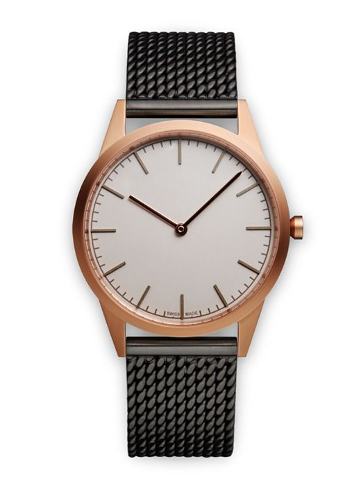 Black / Rose Gold watch