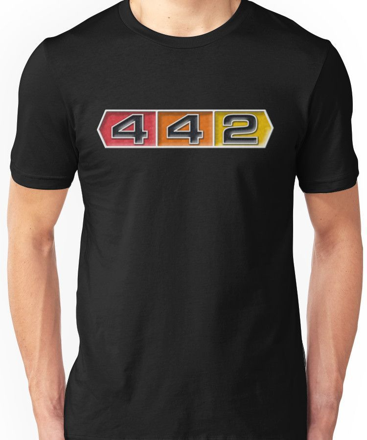 e5e91179 Oldsmobile 442 badge emblem | Unisex T-Shirt | Products | T shirt ...