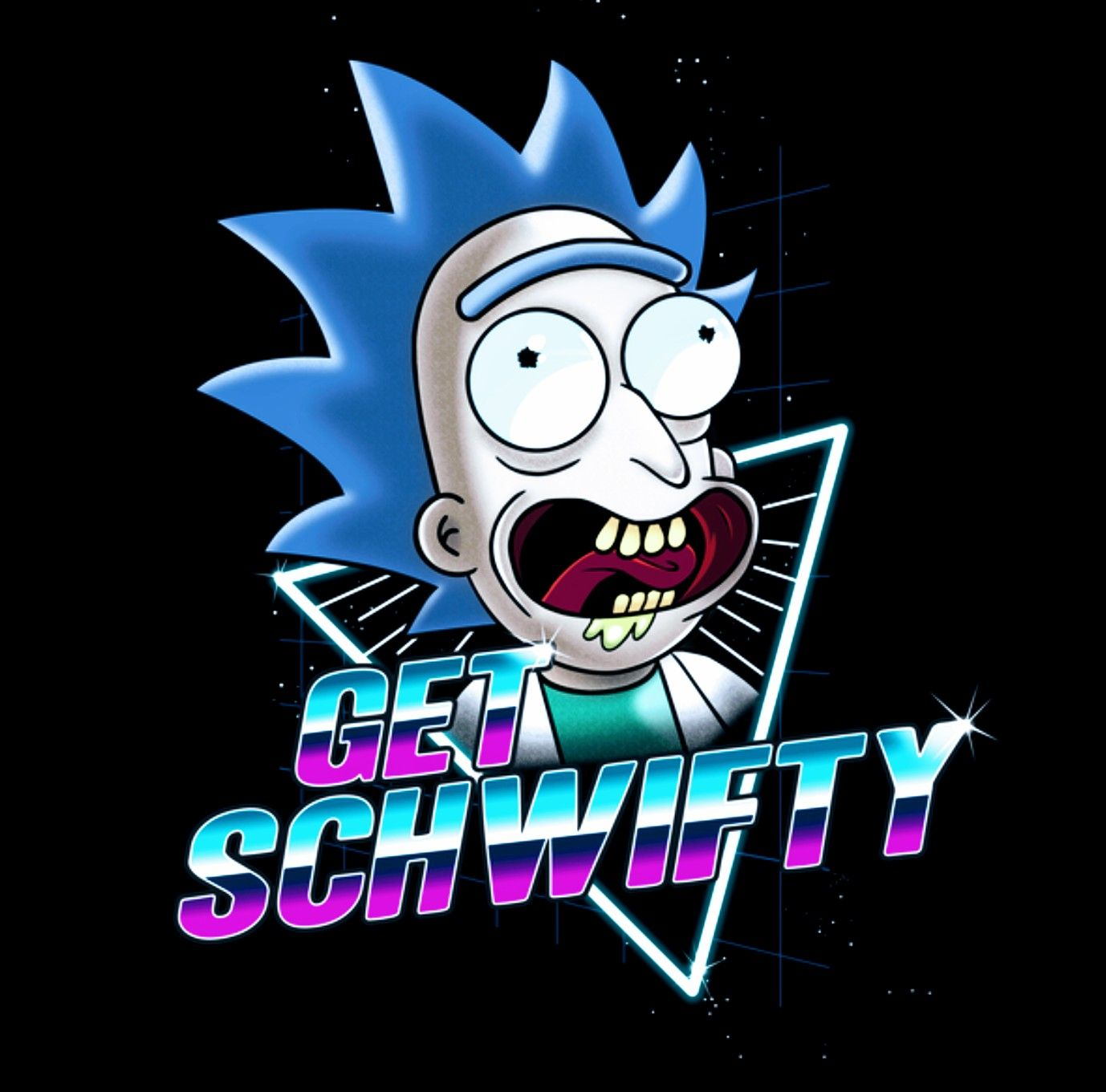 Rick And Morty X Get Schwifty Rick And Morty Poster Rick And