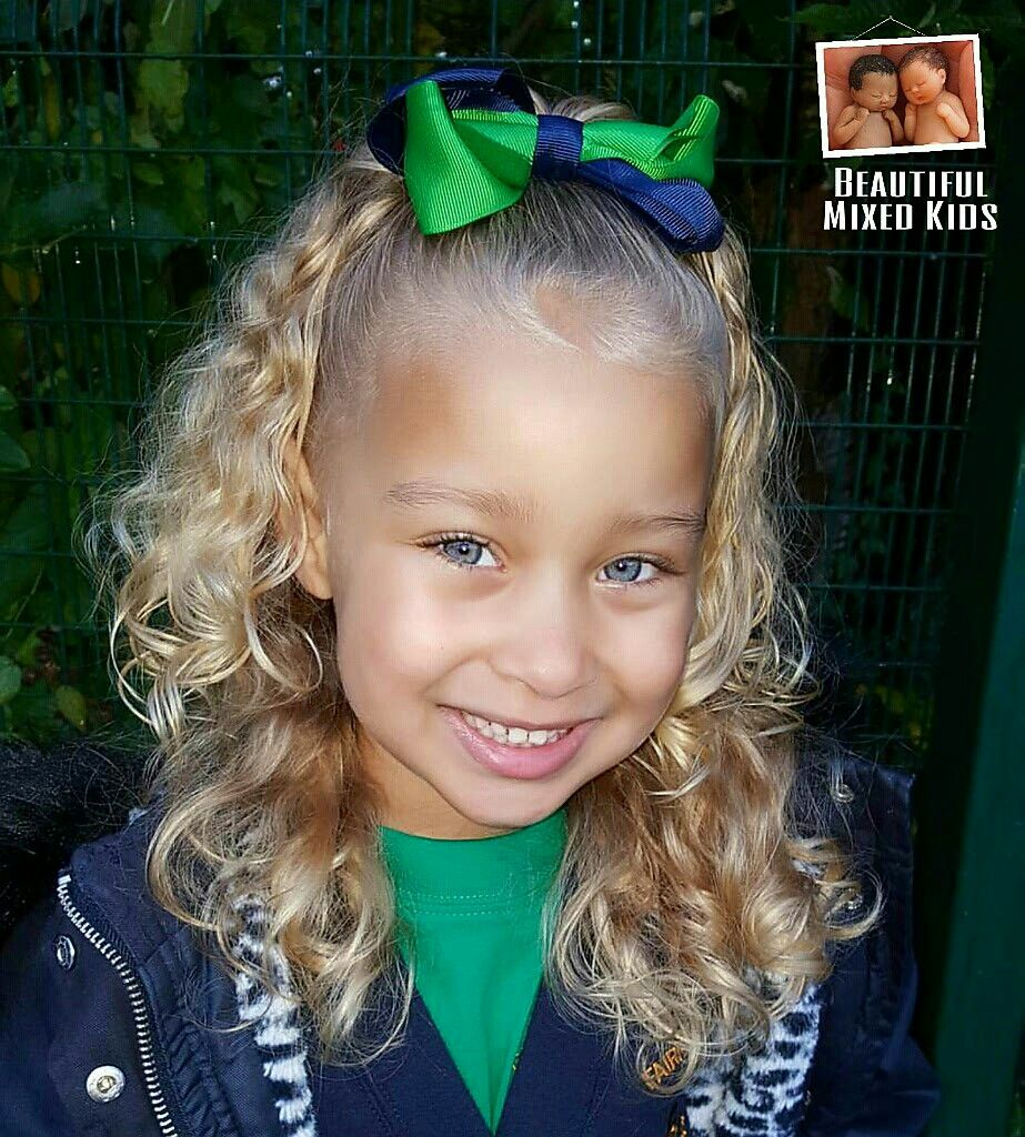 sienna - 4 years • mom: black british & jamaican • dad: white