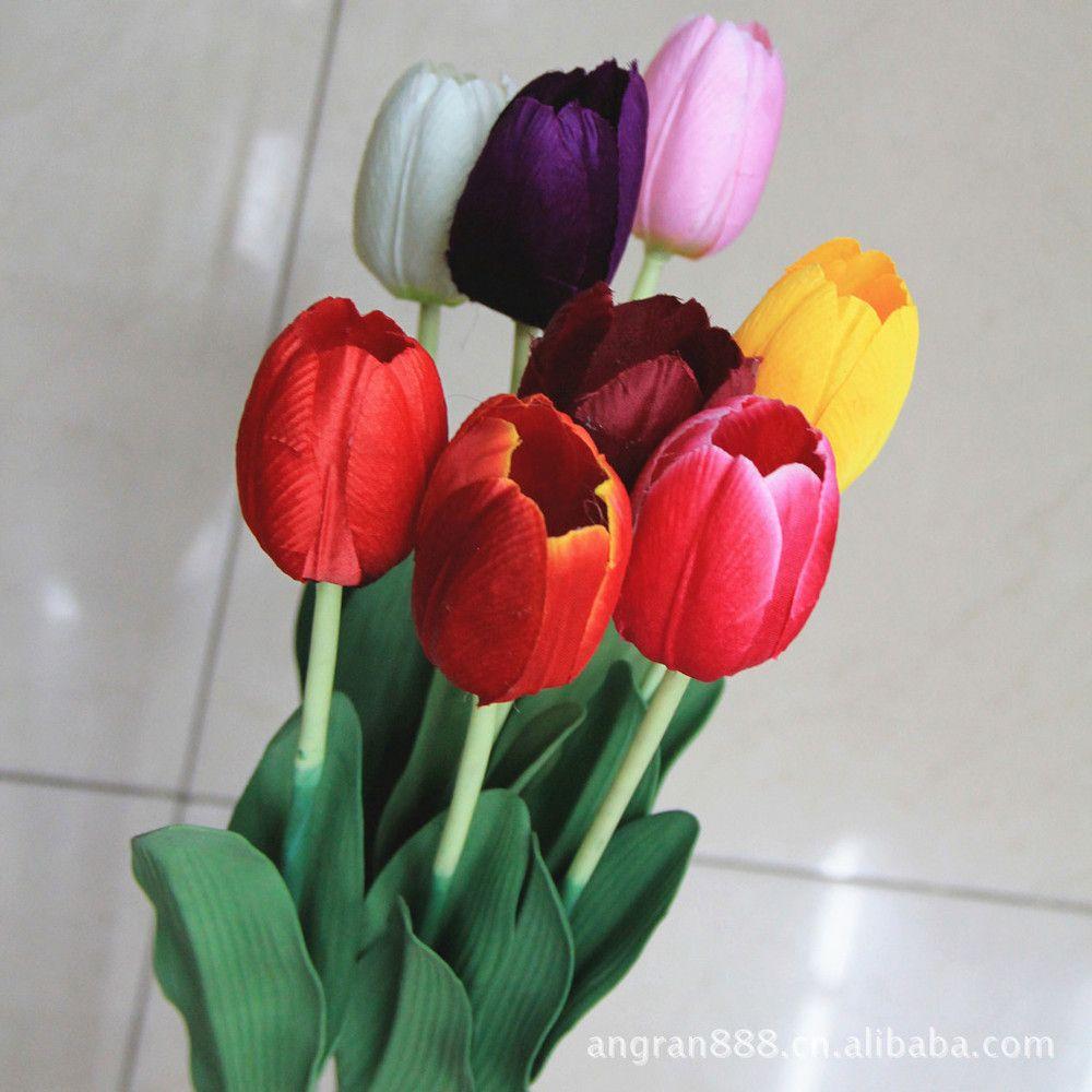 Silk Tulip Flowers | Stock Flower Images | Pinterest | Tulips flowers