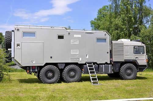 Man Truck Camper Trucks Expedition Vehicle Expedition Truck