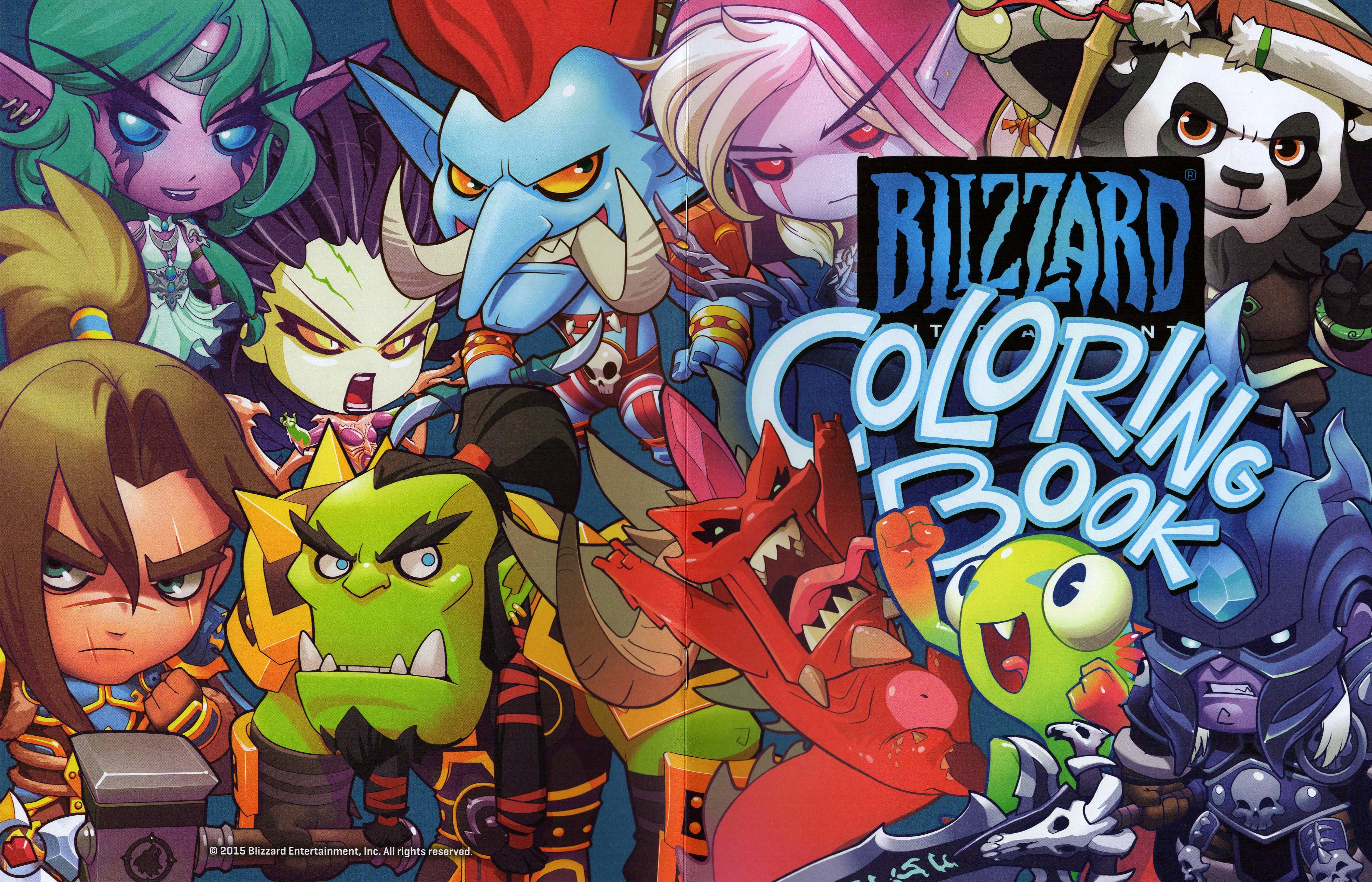 Have A Free Blizzard Coloring Book