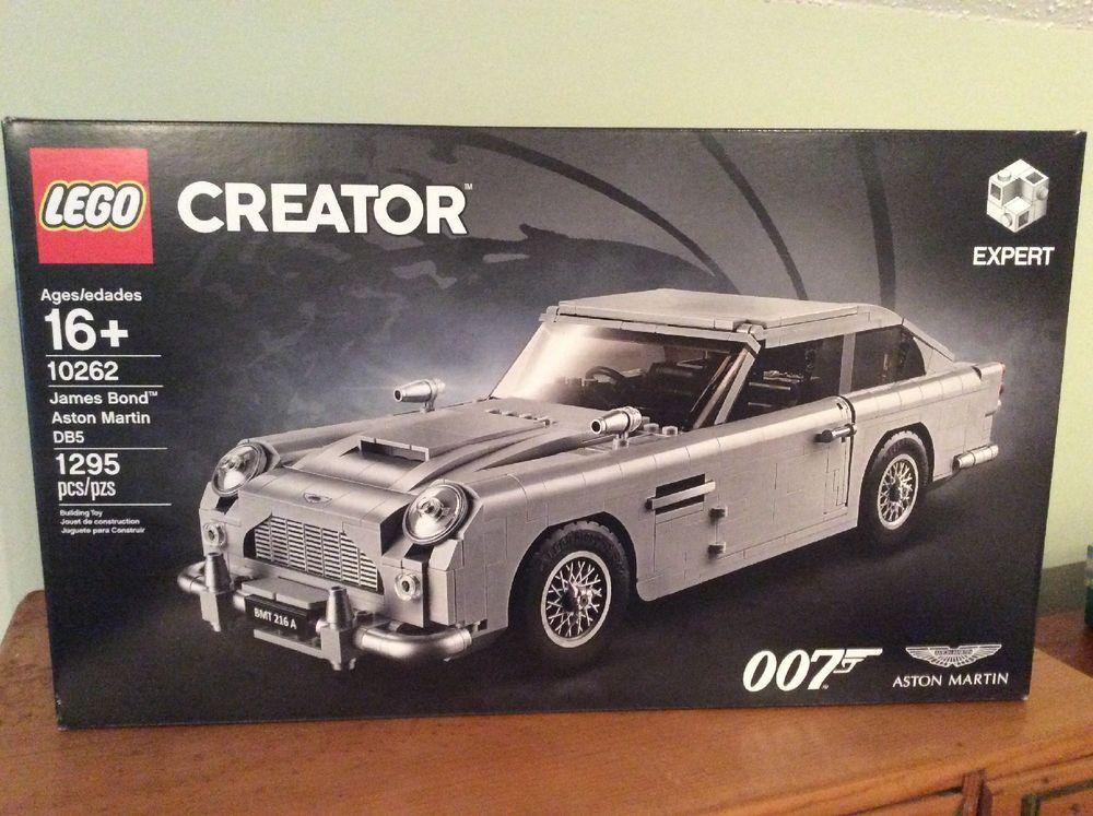 LEGO James Bond Aston Martin DB5 10262 Brand New Sealed FACTORY SEALED