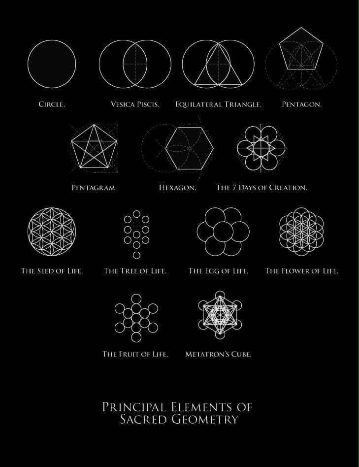 Pin by n r g on awakening kindred spirits pinterest kindred principal elements of sacred geometry sciox Image collections