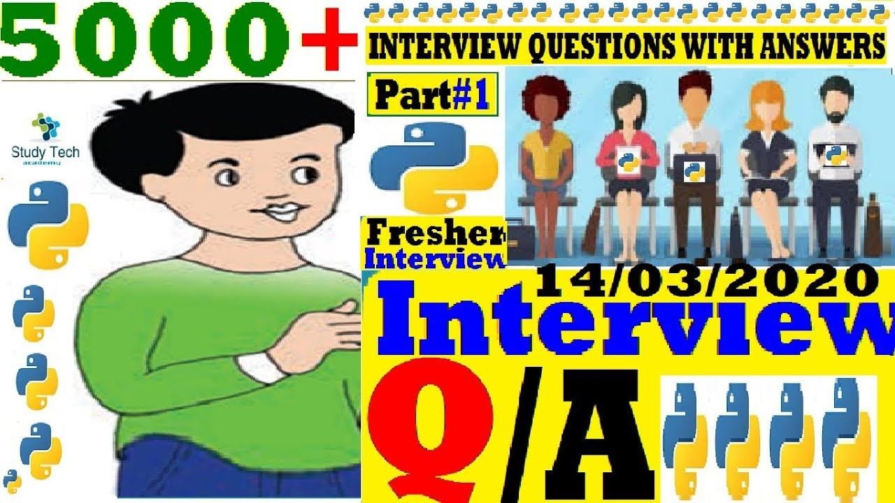 Python Interview Questions with Answers for Freshers in