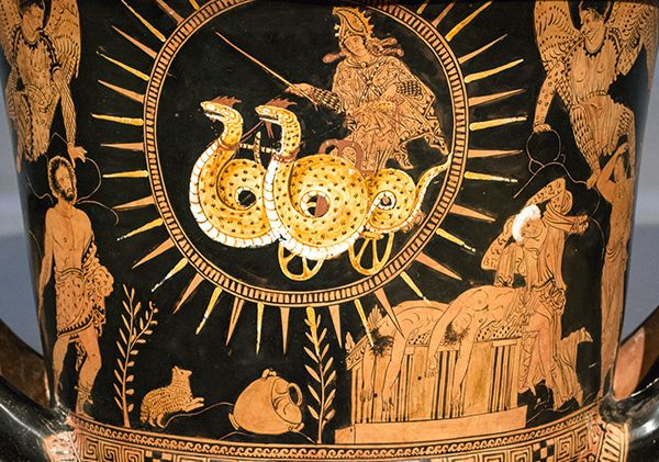an analysis of medea an ancient greek tragedy by euripides Keywords: euripides analysis, euripedes medea throughout greek dramas there is always an underlying message of opposing values this message allows the audience to learn about human nature, and life lessons.