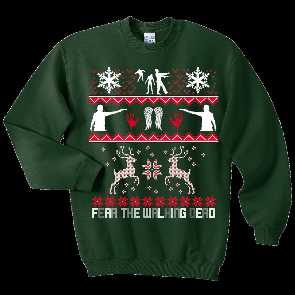 Walking Dead Ugly Sweatshirt Tee Shirt Galaxy Ugly Christmas