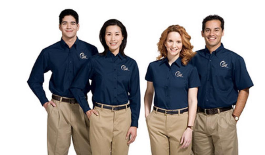 Workers Corporate Uniforms Uniform Clothes Corporate Shirts
