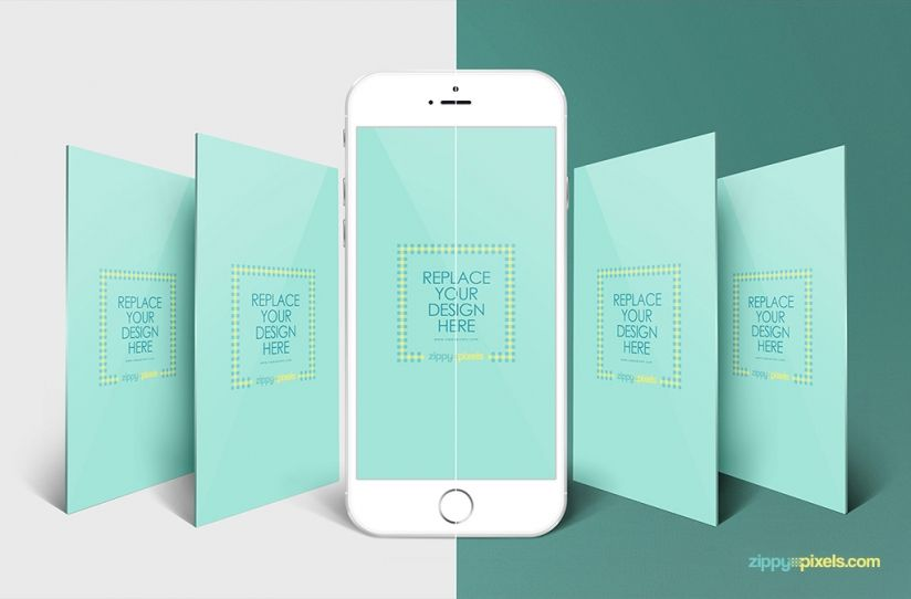 Editable screen design free iphone perspective app for Designing an iphone app