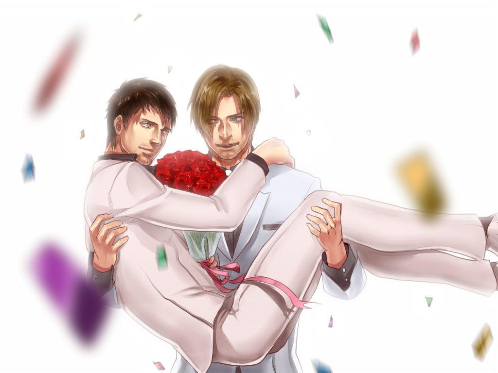 Leon And Buddy Resident Evil Damnation Resident Evil