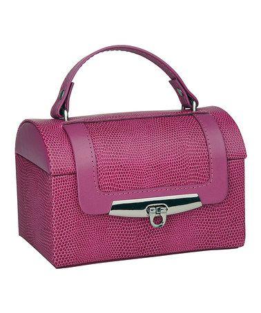 Take a look at this Raspberry Miranda Jewelry Box by Rowallan on