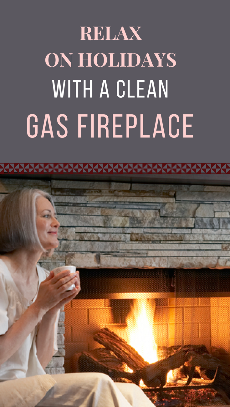 relax on holidays with a clean gas fireplace house cleaning