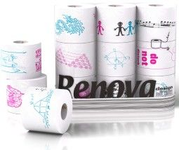 designer toilet paper...for the style conscious tush