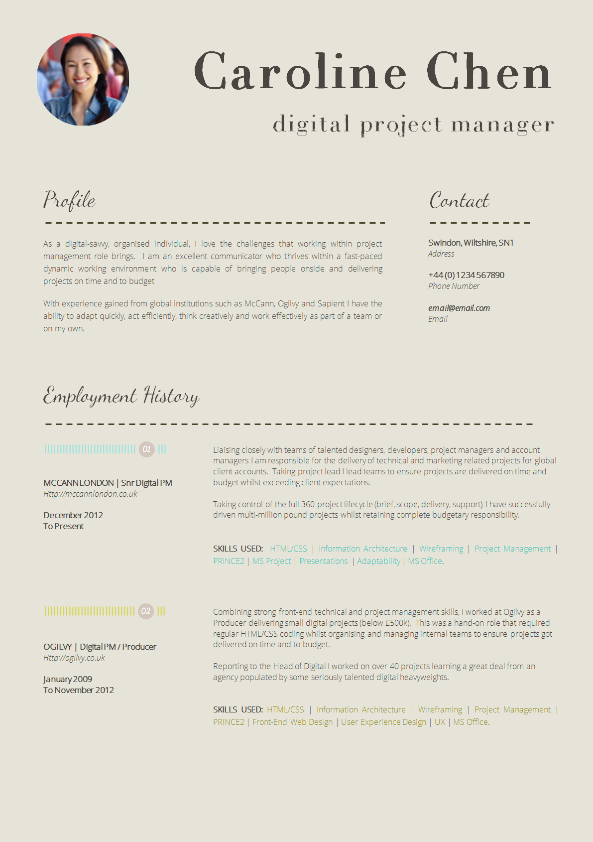 Cinema Manager Sample Resume 13 Slick And Highly Professional Cv Templates Guru  News To Go 2 .