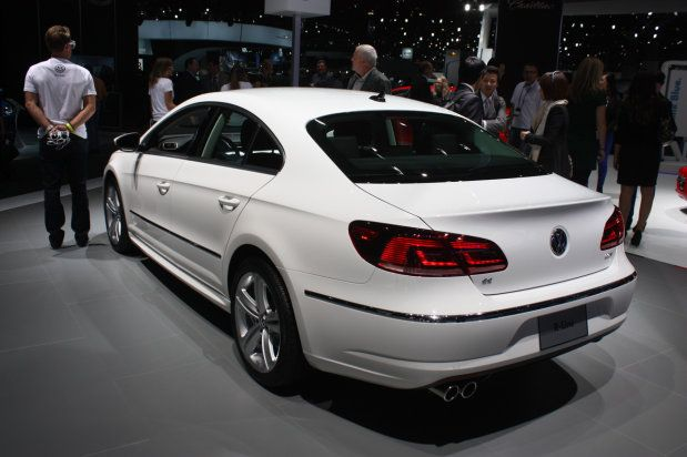 2013 Volkswagen CC R-Line - rear quarter | LA Auto Show 2012 ...