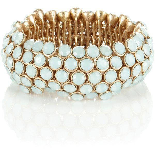 Accessorize Eve Stretch Bracelet ($29) ❤ liked on Polyvore