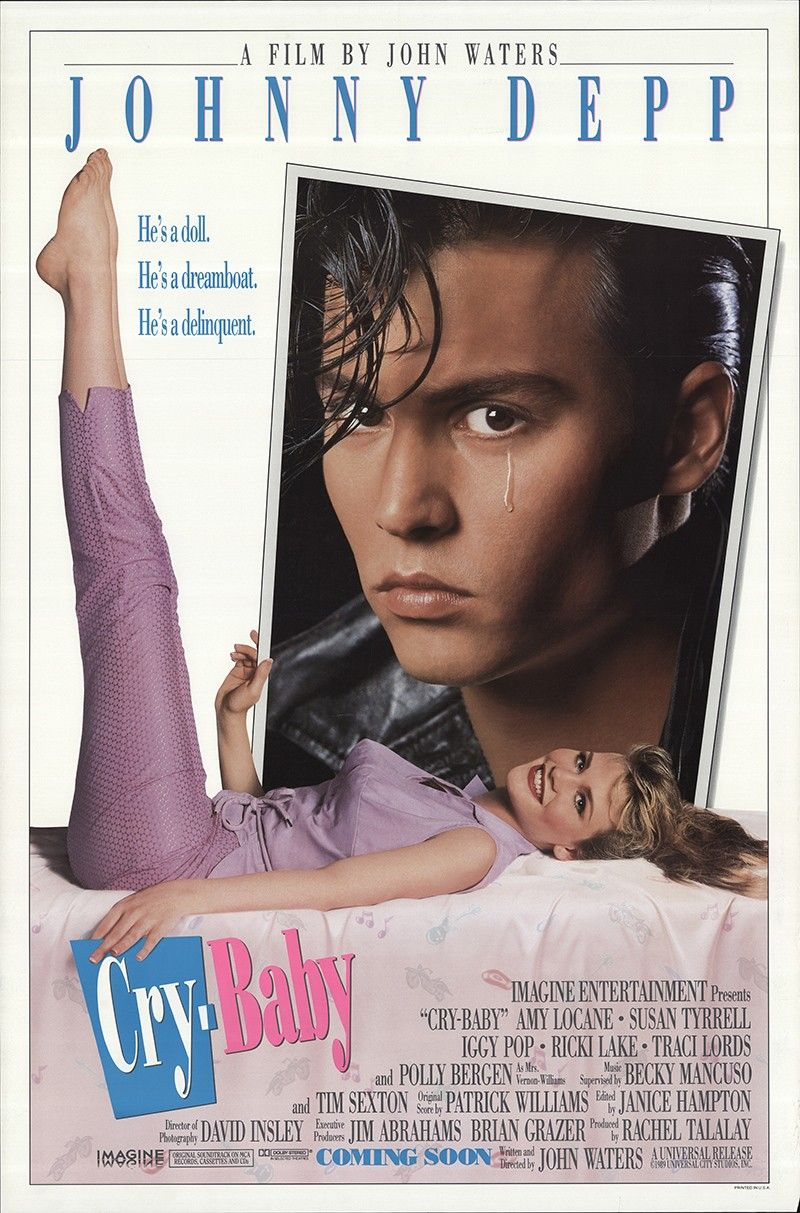 CryBaby (1990) Cry baby movie, Cry baby 1990, Cry baby