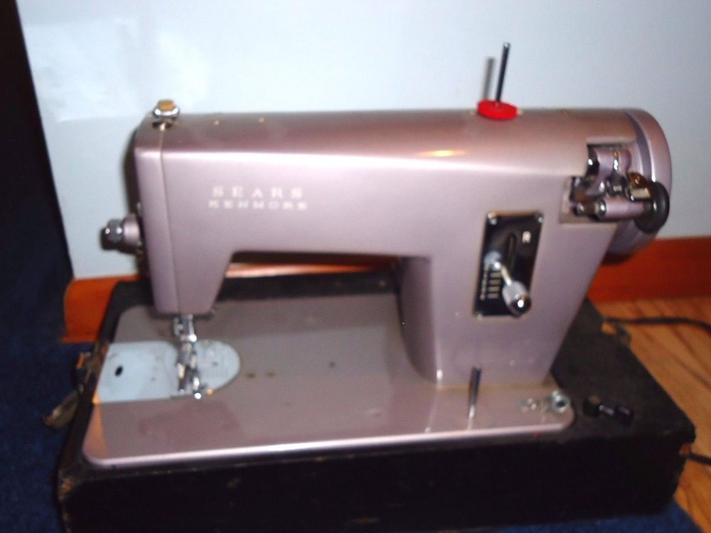 Vintage Sears Kenmore Sewing Machine 4040 Class 40 Speed Control Awesome Kenmore 28 Sewing Machine