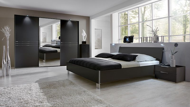 Schlafzimmer Set 4tlg »MEDIAN« lavafarbig Jetzt bestellen unter