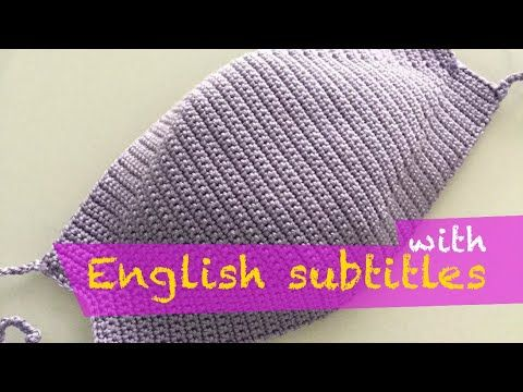 Photo of Çok Kolay Tığ İşi Örgü Maske Yapımı (Face Mask Crocheting with English subtitles)