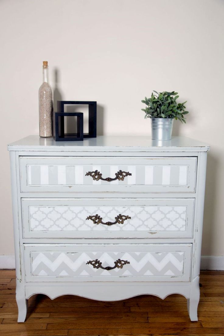 Nice 57 Stylish Gray Shabby Chic Furniture Ideas Shabbychicdressersmakeover
