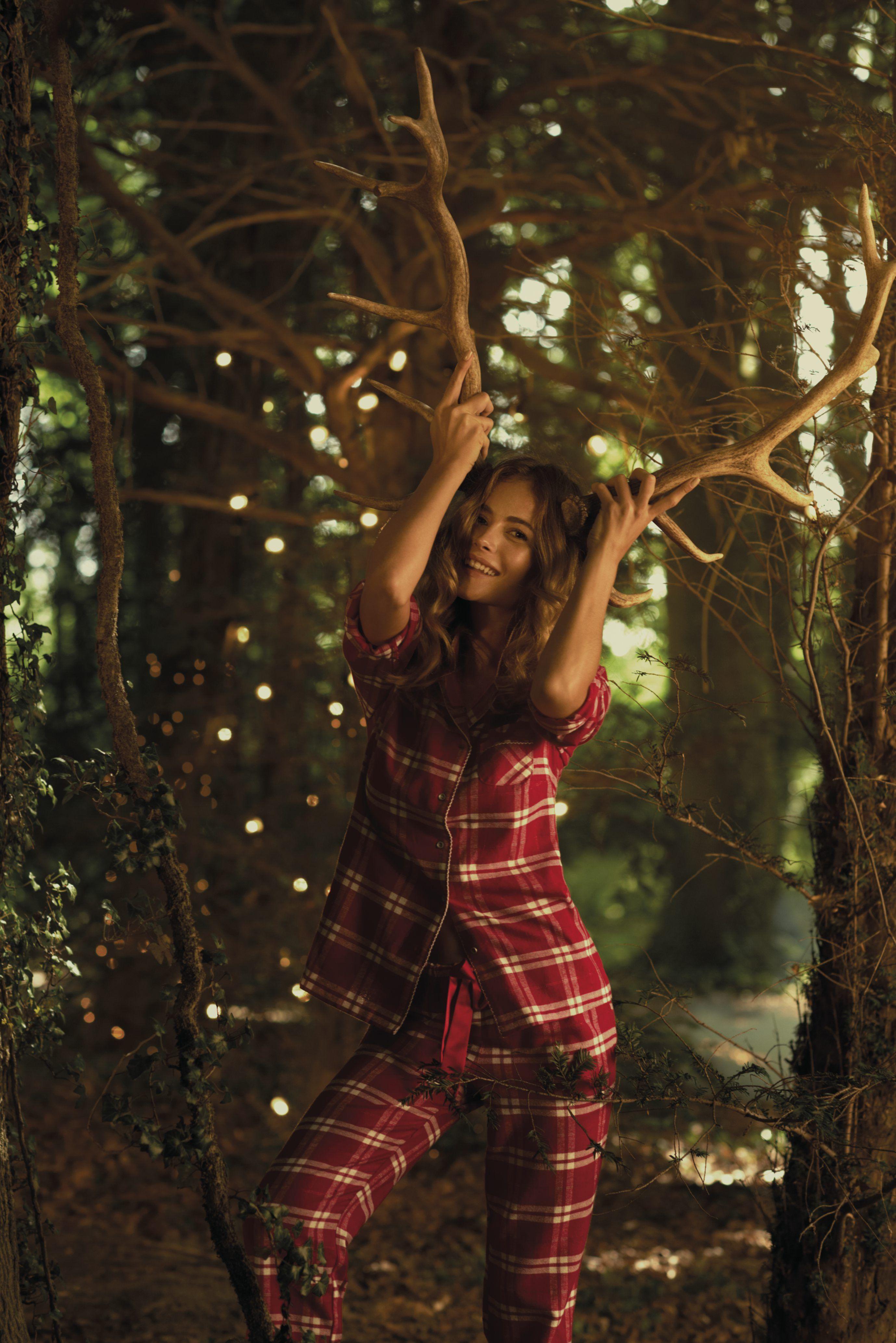 Fun red pyjamas! We love!