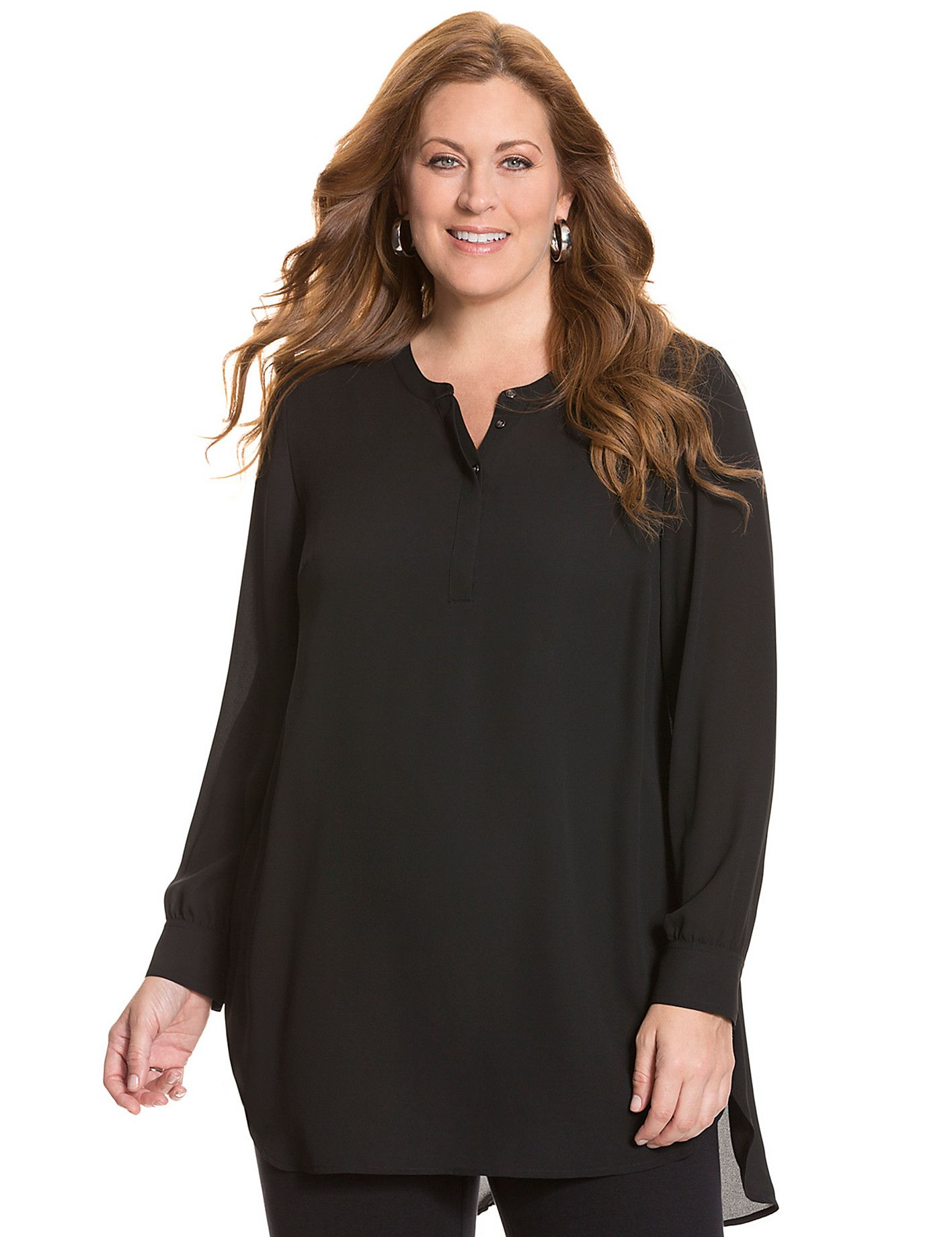 Lane Bryant Formal Blouses