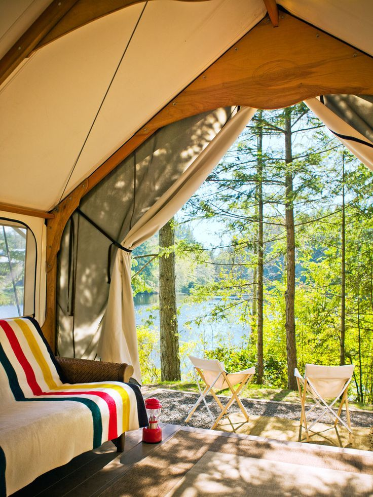 Glam Camping Rethink The Pitched Tent