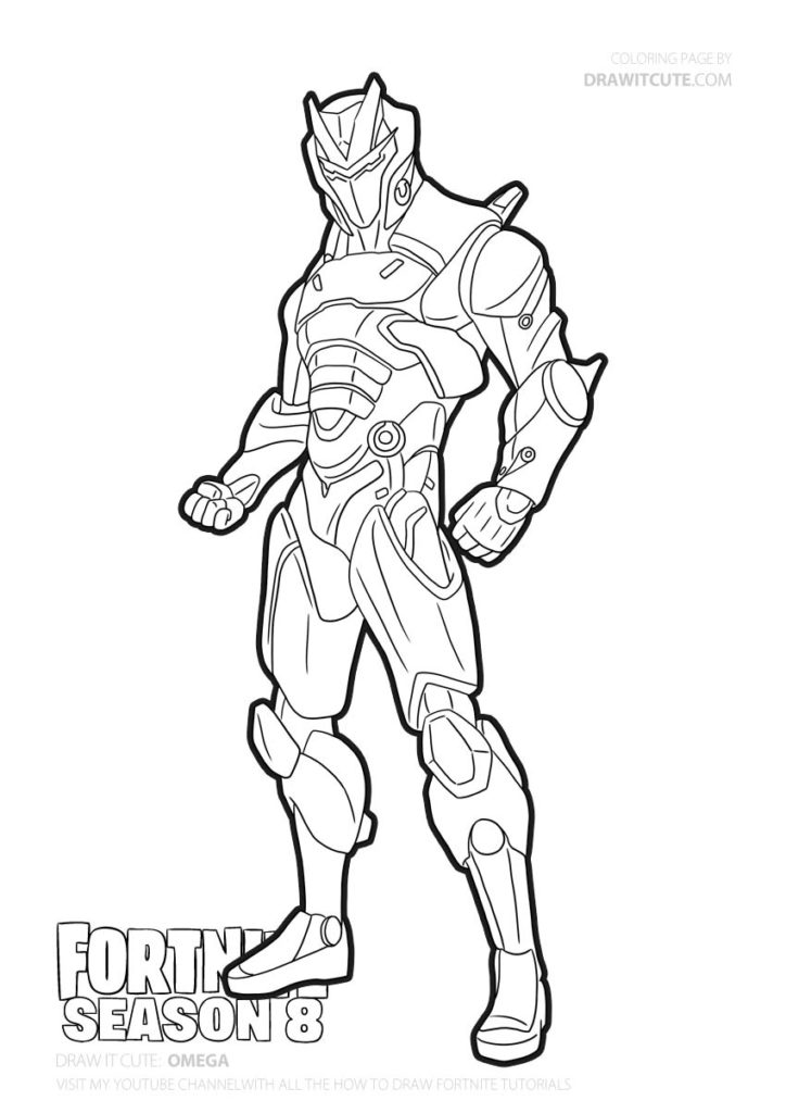 Omega Fortnite Coloring Page Color For Fun Fortnitefanart Fortnitely Fanart Fortniteworldcup Coloring Pages Free Printable Coloring Pages Fun Colors