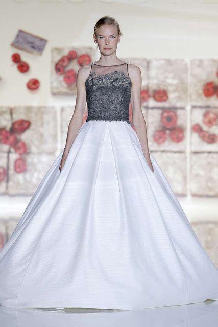 Vestidos de novia con colores ¡14 fotos de moda!