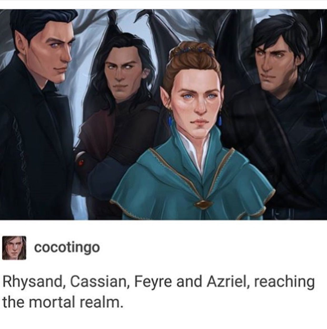 This Art Is Crazy Good A Court Of Mist Fury Feyre Rhysand