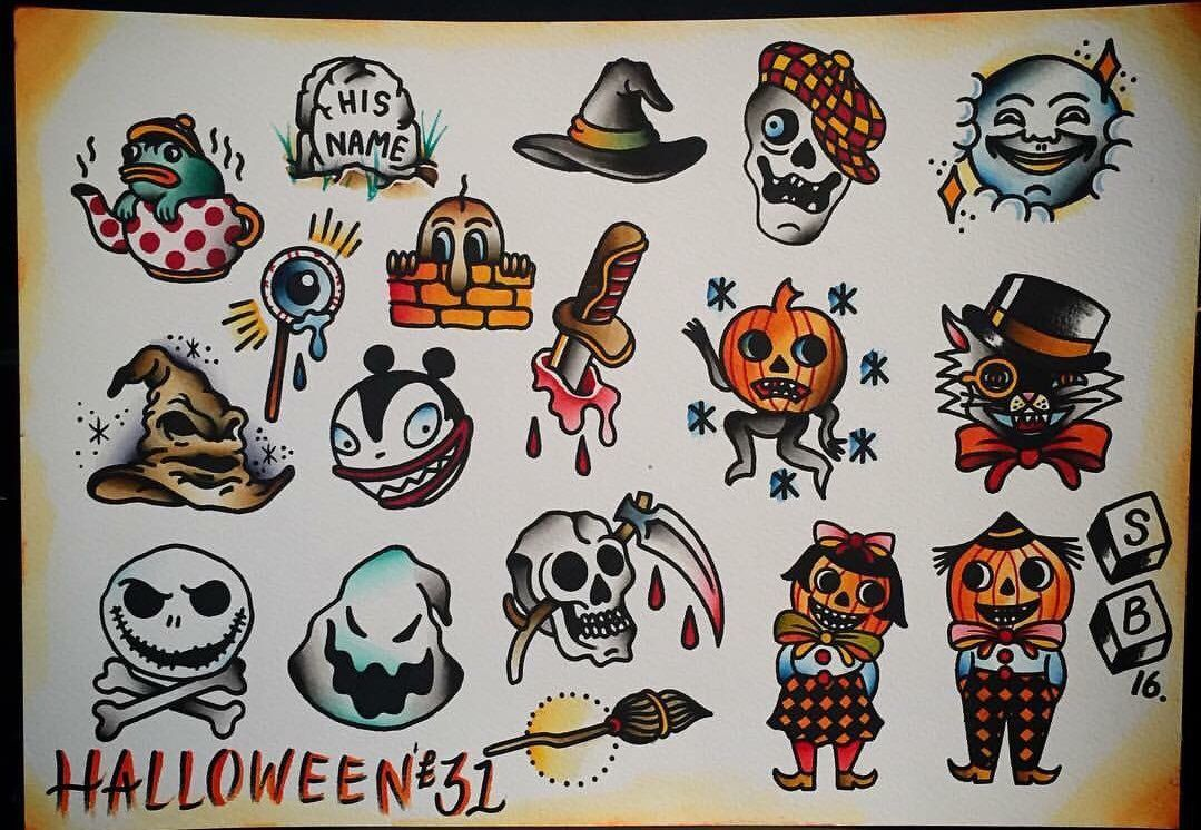 £31 Halloween tattoos at TLC Tattoo & Piercing