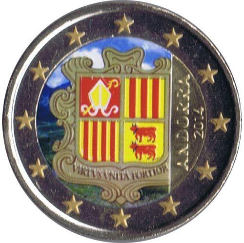 Pin By Jose Luis On Filatelia Pinterest Andorra Euro And Euro Coins