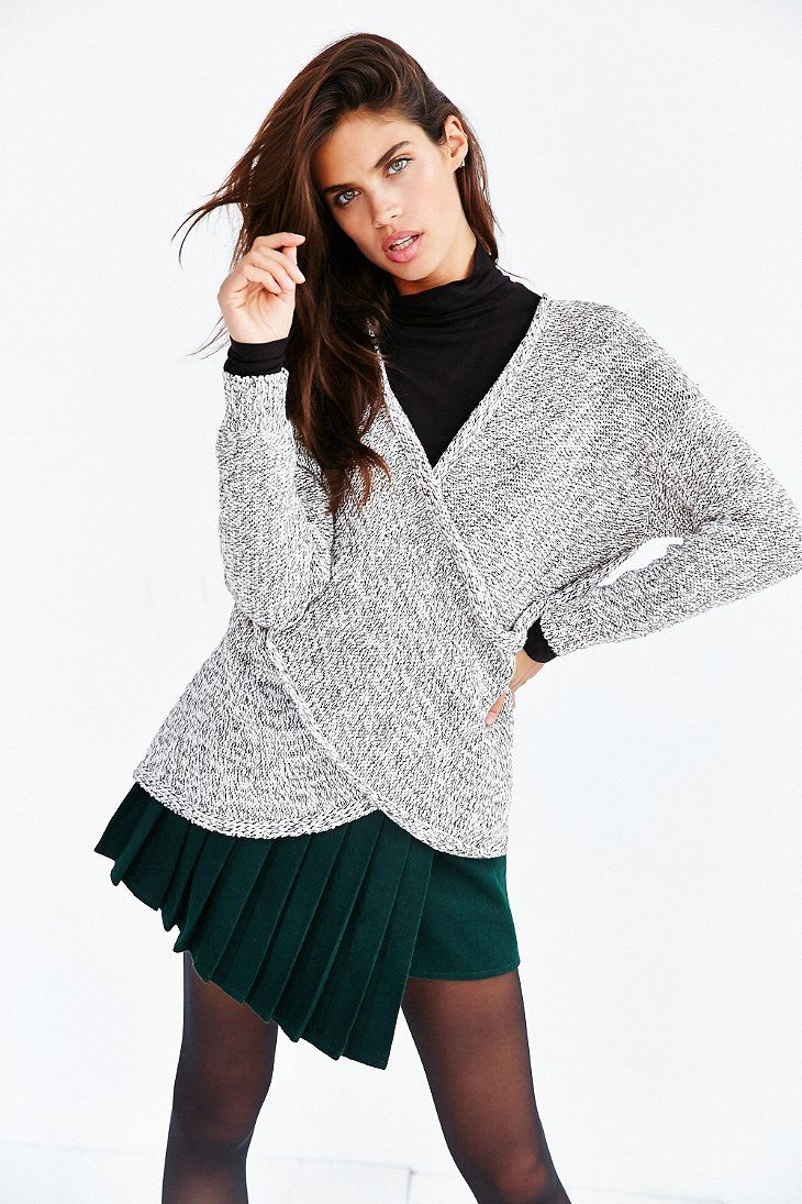 Kimchi Blue Everyday Surplice Sweater