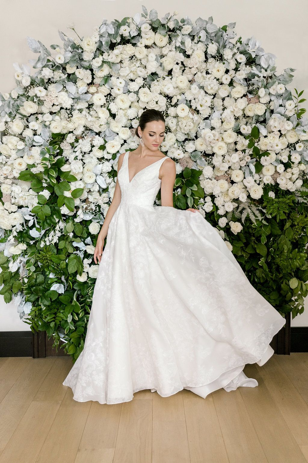 Lupita Blue Willow Bride By Anne Barge Spring 2019 Collection