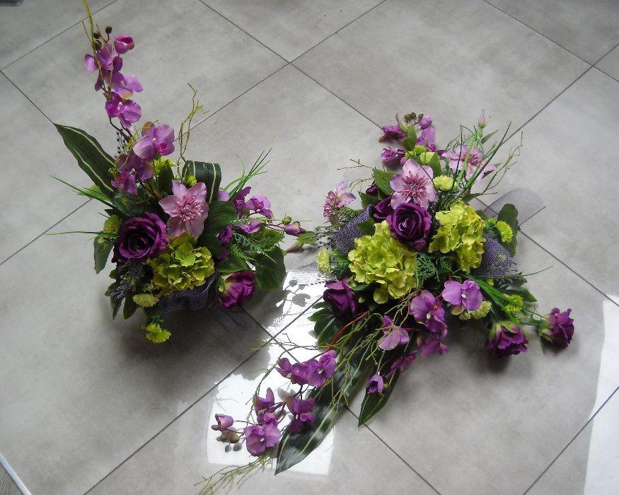 Stroik Na Grob Kompozycja Nagrobna Bukiet Roze Hortensja Storczyk Gora Olx Pl Floral Floral Wreath Flowers
