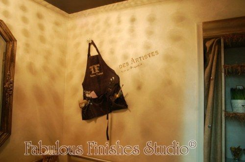 Store bathroom redesign on a dime -Decorating one wall - Tucked away ...