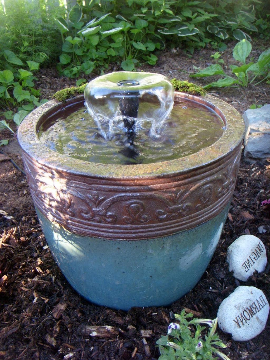 Small Outdoor Fountain