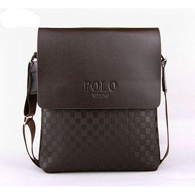 Business Man s Small Messenger Bags Polo Men s Crossbody Bags ... e2d35f0a24a20