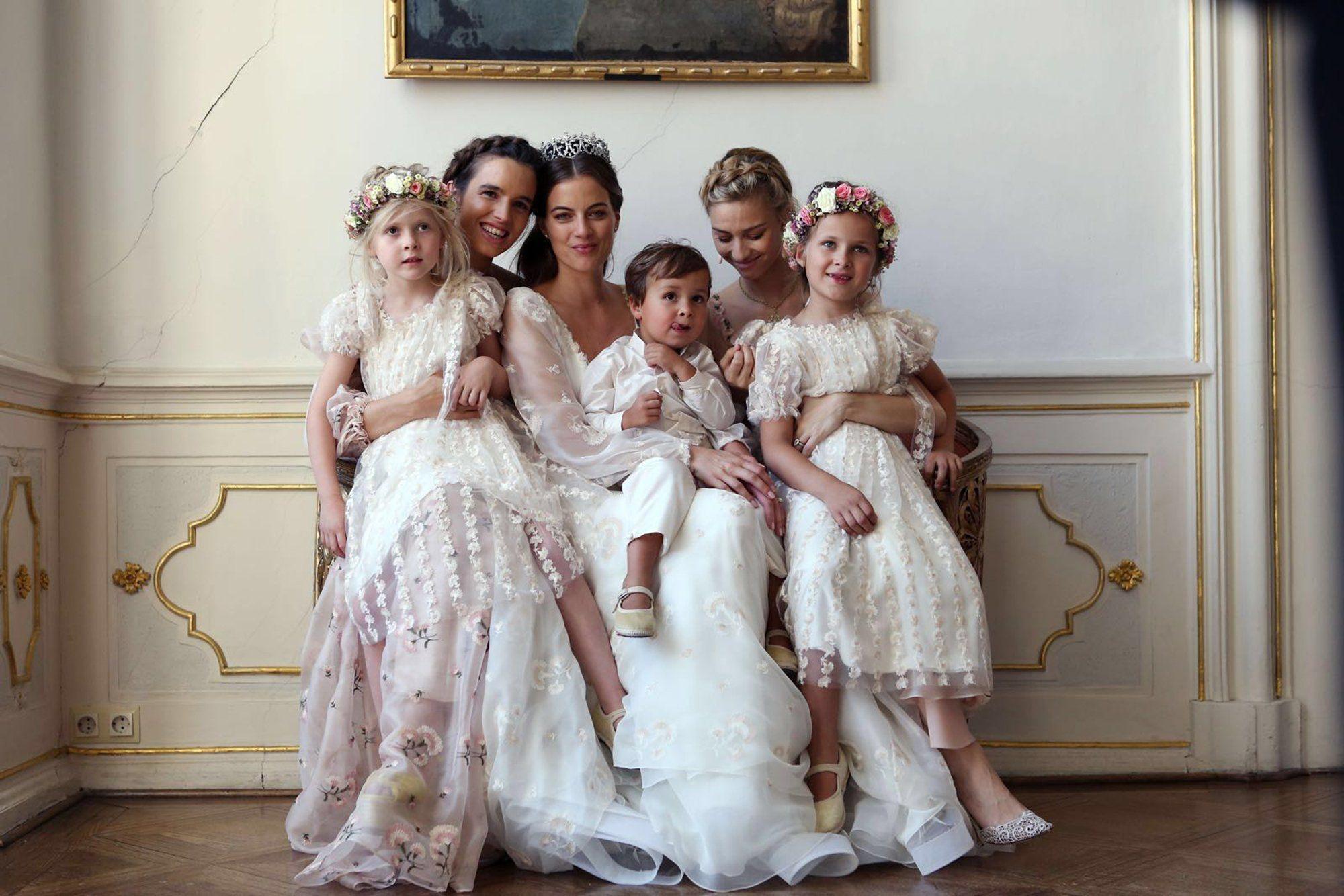 Royal wedding dress  Baroness Cleopatra von Adelsheim von Ernest Marries Prince Franz