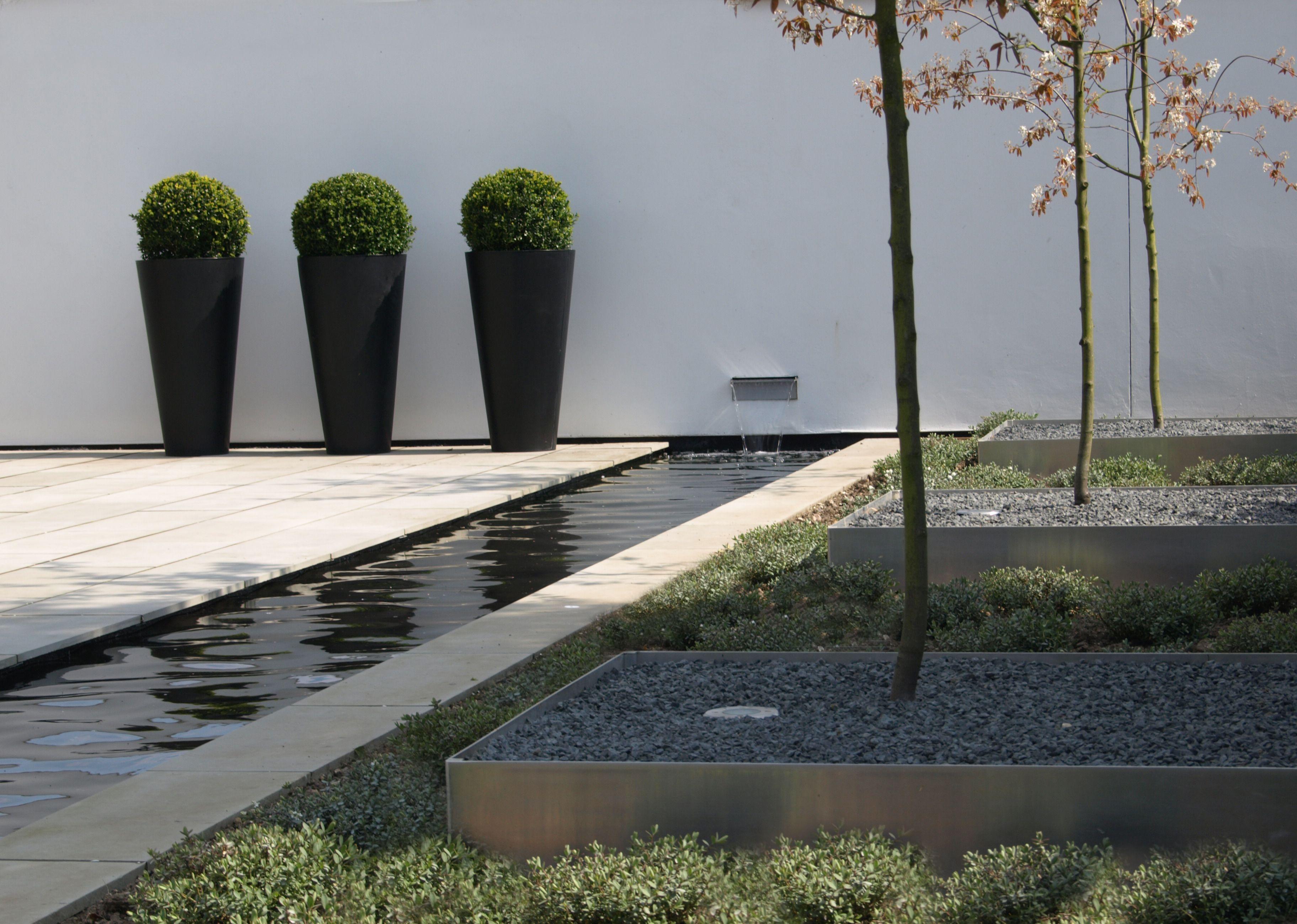 Paul Dracott Minimalist Garden At Harston Cambridgeshire Minimalist Garden Modern Landscaping Luxury Garden