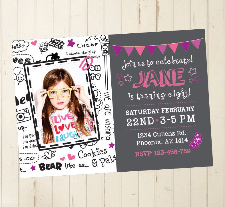 Cool Invites For Birthday Choice Image - baby shower invitations ideas