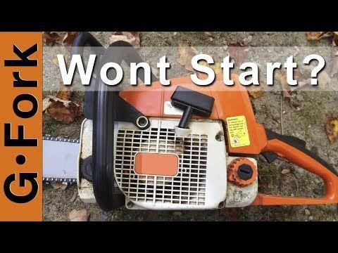 Chainsaw and Gas Trimmer Repair Fix - DIY GardenFork