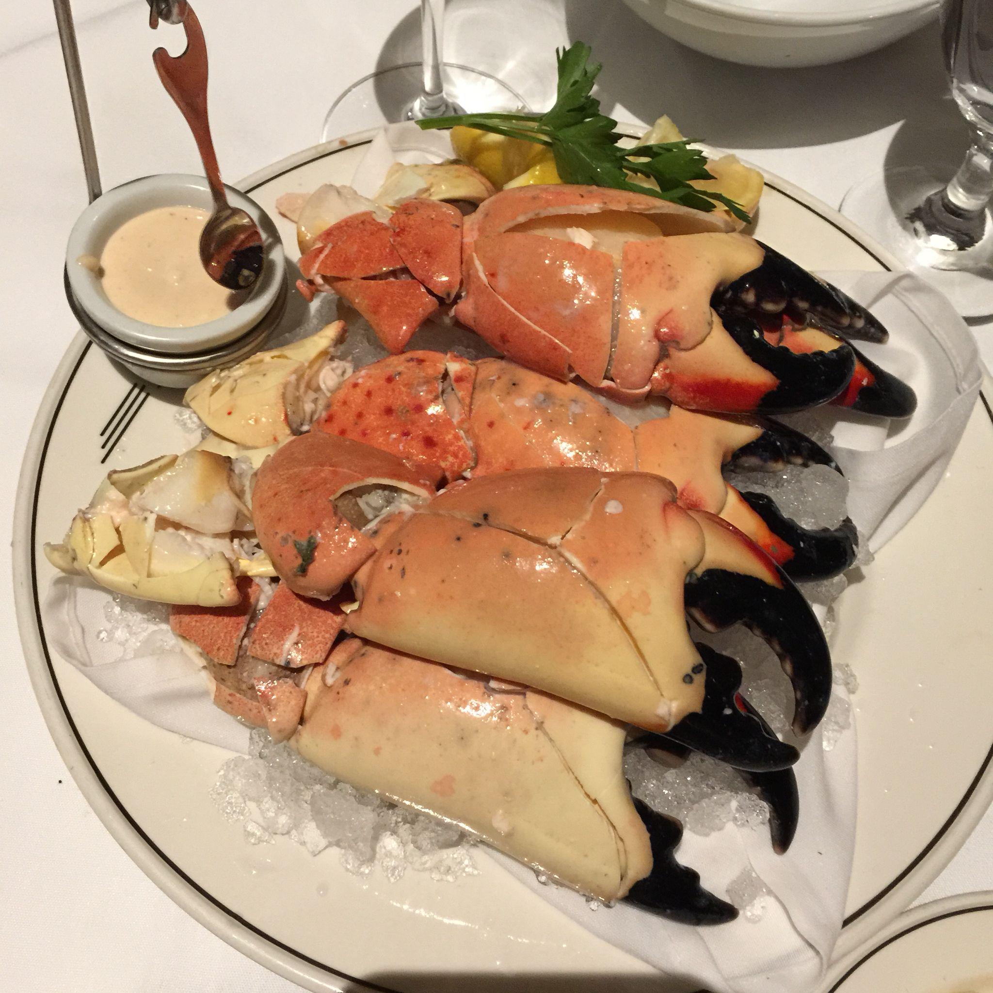 Stone Crab StirFry Recipe Recipe Crab claw recipes