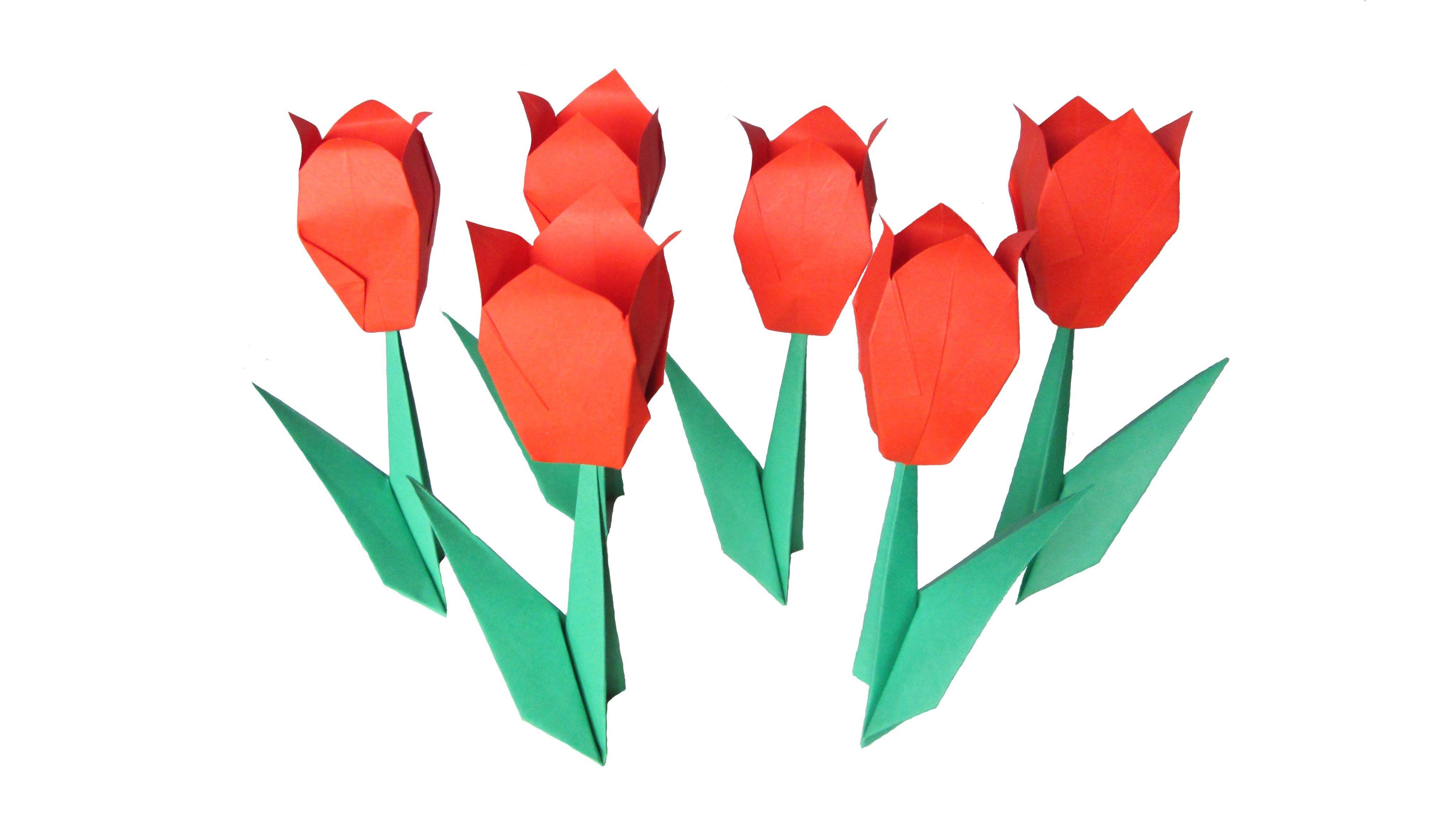 Origami flower tulip pinterest origami kevin macleod origami flower tulip mightylinksfo