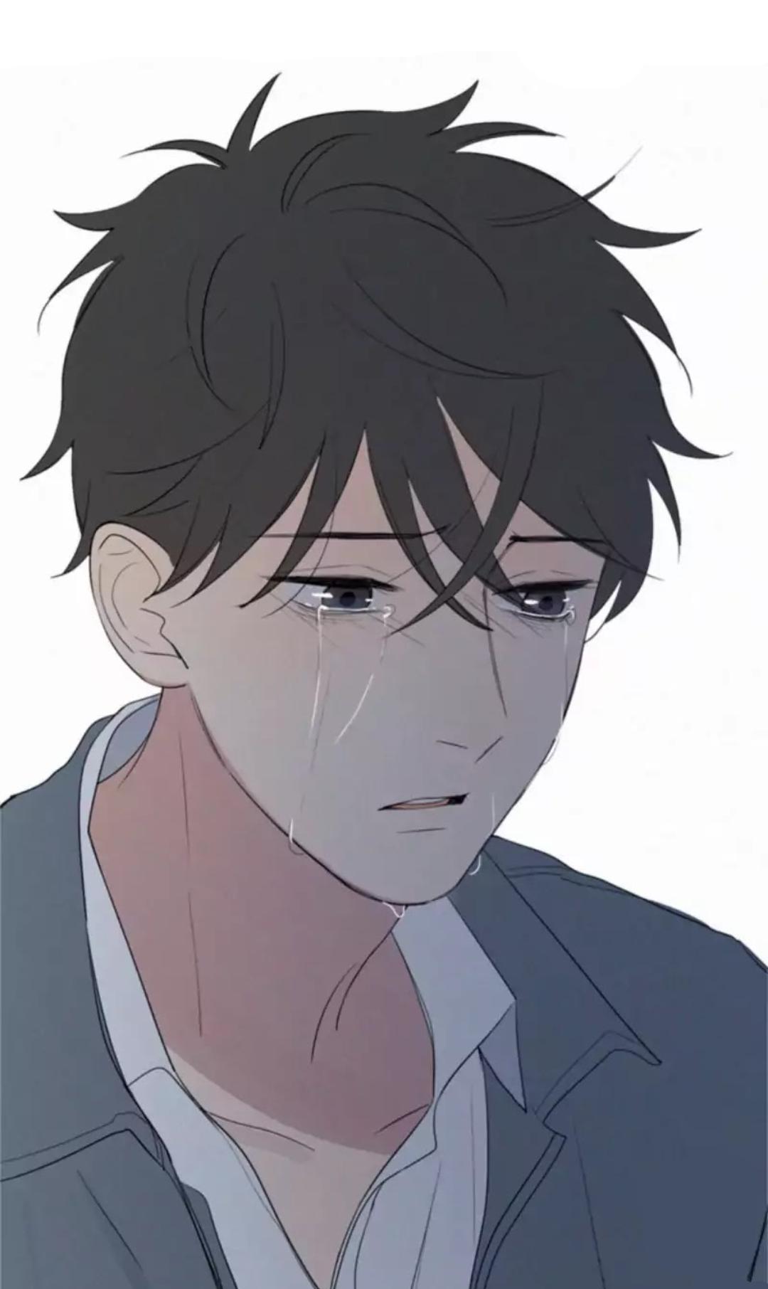 Pin by Megan on Anime Guys Anime crying, Anime boy
