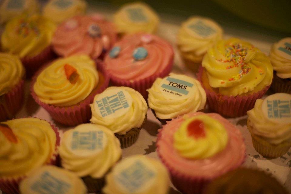 Tom Cupcakes
